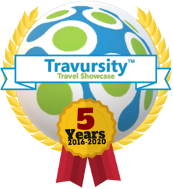 Travursity 5 Year Logo