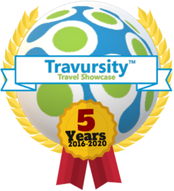 Travursity 5 Year Anniversary Logo